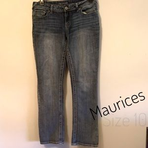 Women's Maurices slim fit jeans